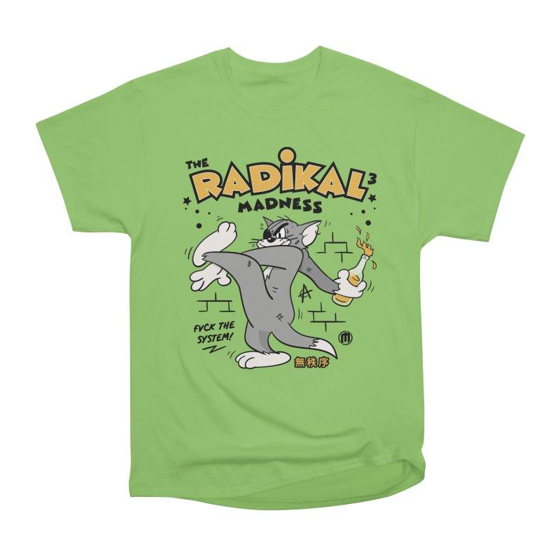 Radikal Madness Men's Heavyweight T-Shirt by MAXIMOGRAFICO — collection