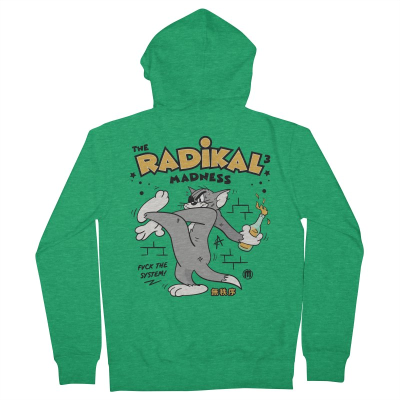 Radikal Madness Men's Zip-Up Hoody by MAXIMOGRAFICO — collection