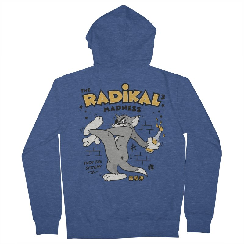 Radikal Madness Men's French Terry Zip-Up Hoody by MXM — collection
