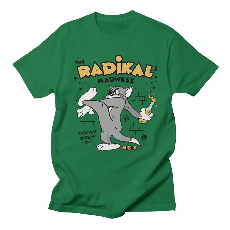 Radikal Madness Men's T-Shirt by MAXIMOGRAFICO Ltd. Collection