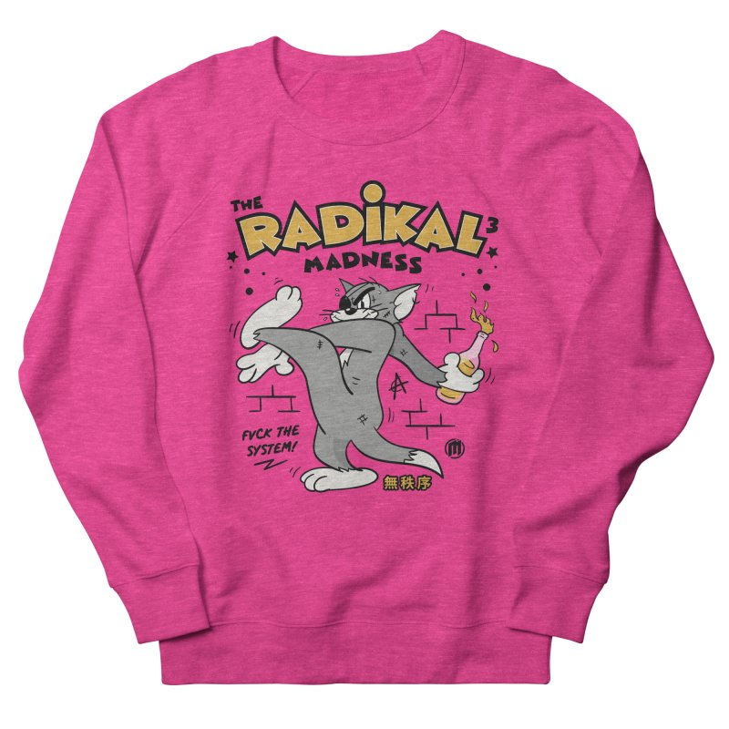 Radikal Madness Men's French Terry Sweatshirt by MAXIMOGRAFICO — collection