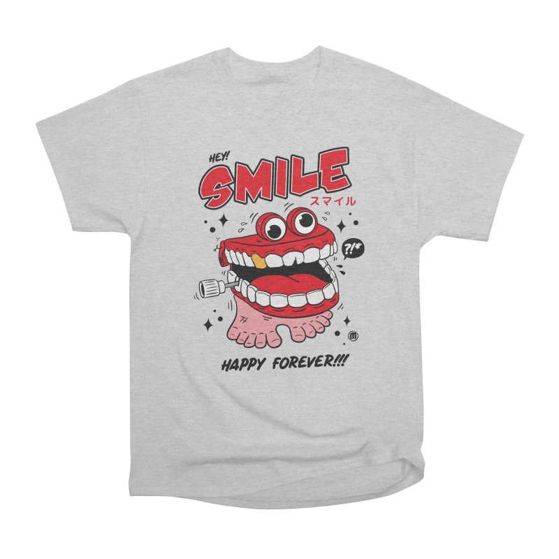 Smile Jumper Men's Heavyweight T-Shirt by MAXIMOGRAFICO — collection