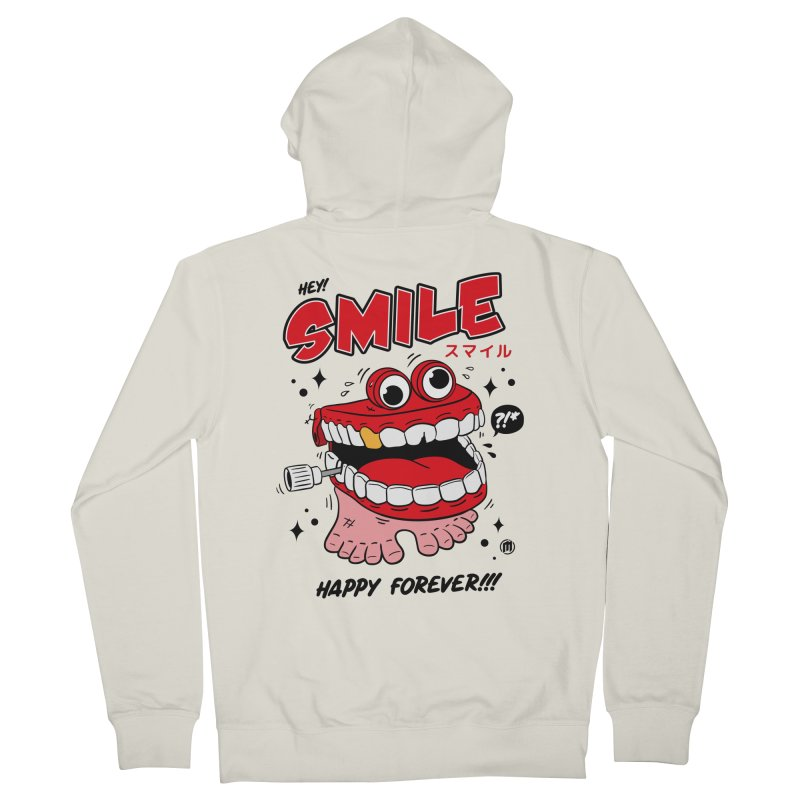 Smile Jumper Women's Zip-Up Hoody by MXM — collection