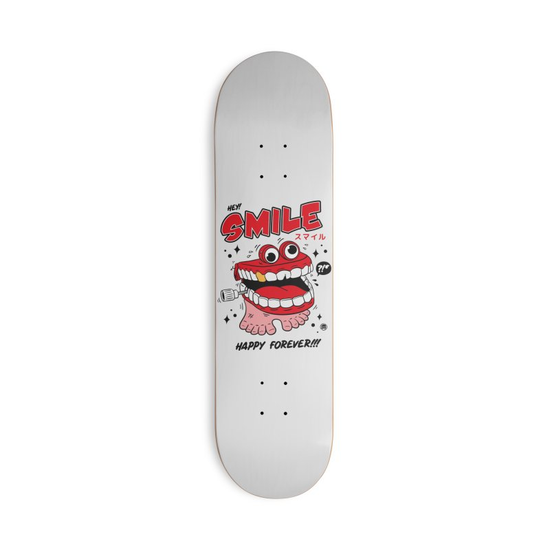 Smile Jumper Accessories Deck Only Skateboard by MXM — collection