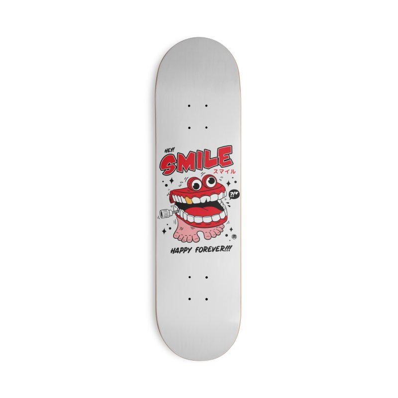 Smile Jumper Accessories Skateboard by MAXIMOGRAFICO Ltd. Collection