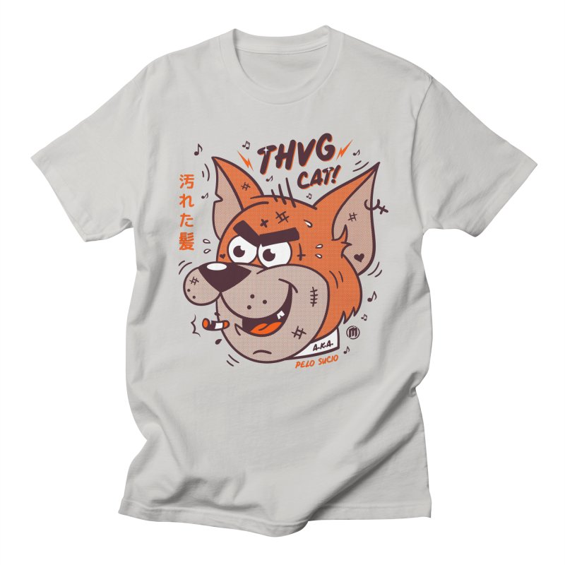 Thug Cat Men's Regular T-Shirt by MXM — collection