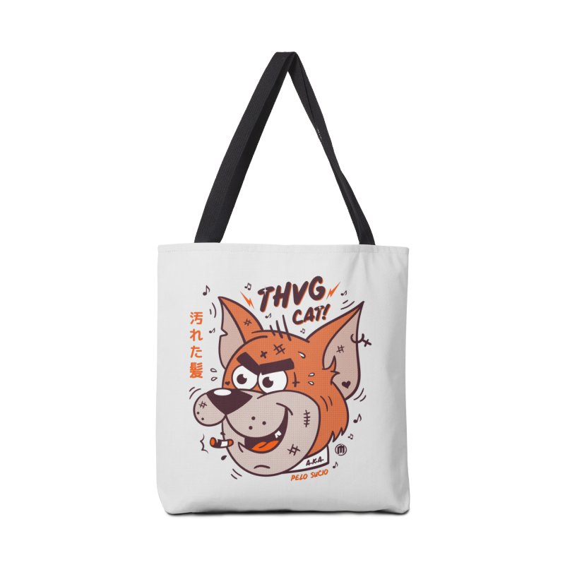 Thug Cat Accessories Tote Bag Bag by MXM — collection