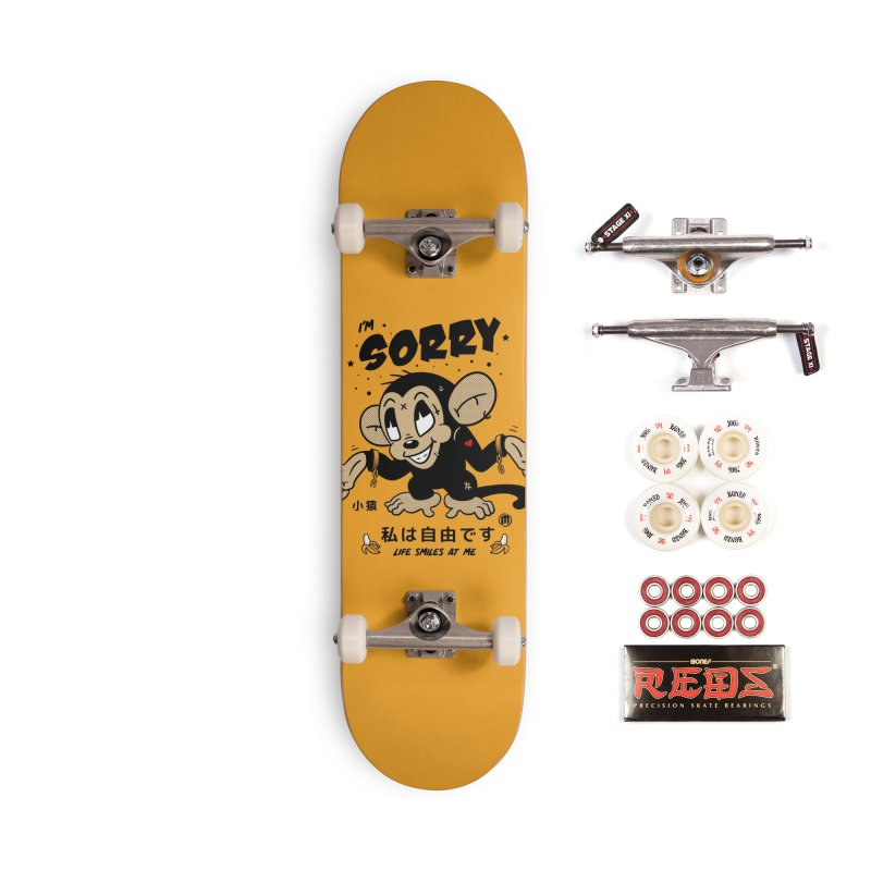 Life smiles Accessories Complete - Pro Skateboard by MXM — ltd. collection