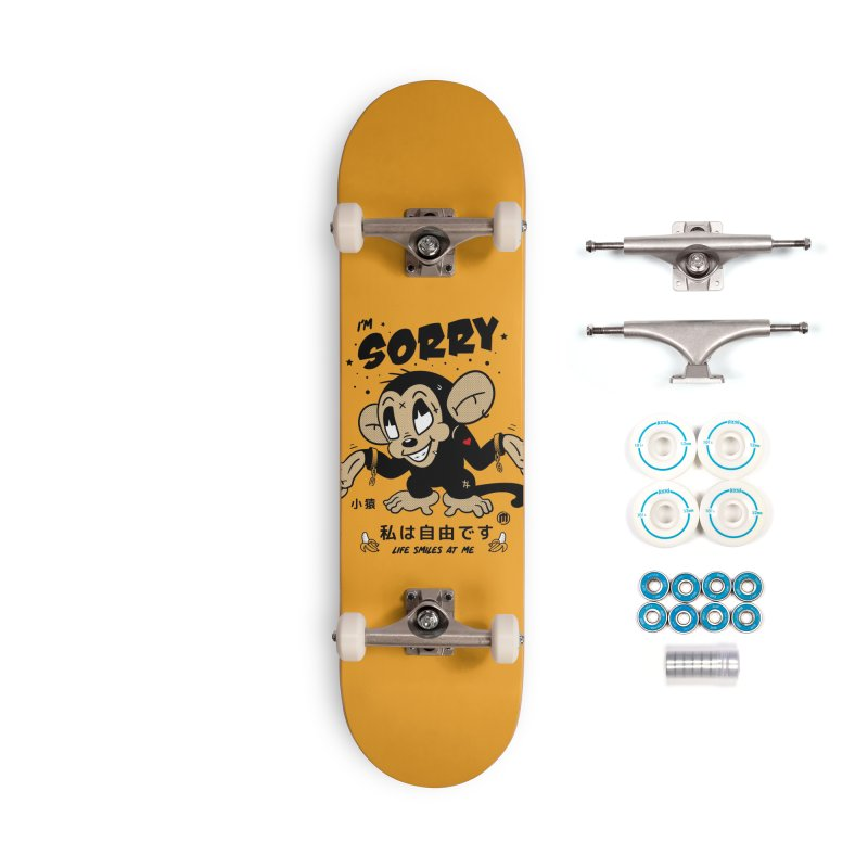 Life smiles Accessories Complete - Basic Skateboard by MXM — ltd. collection