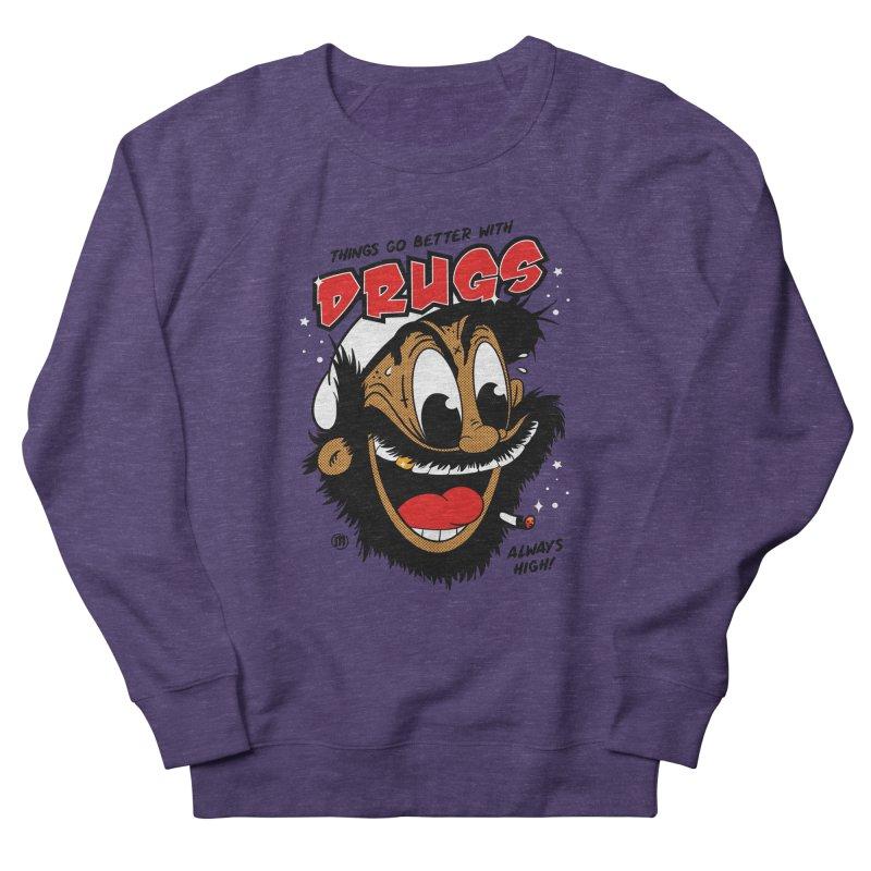 Drugs Men's Sweatshirt by MAXIMOGRAFICO Ltd. Collection
