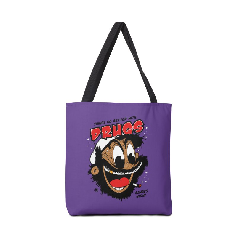 Drugs Accessories Tote Bag Bag by MXM — collection
