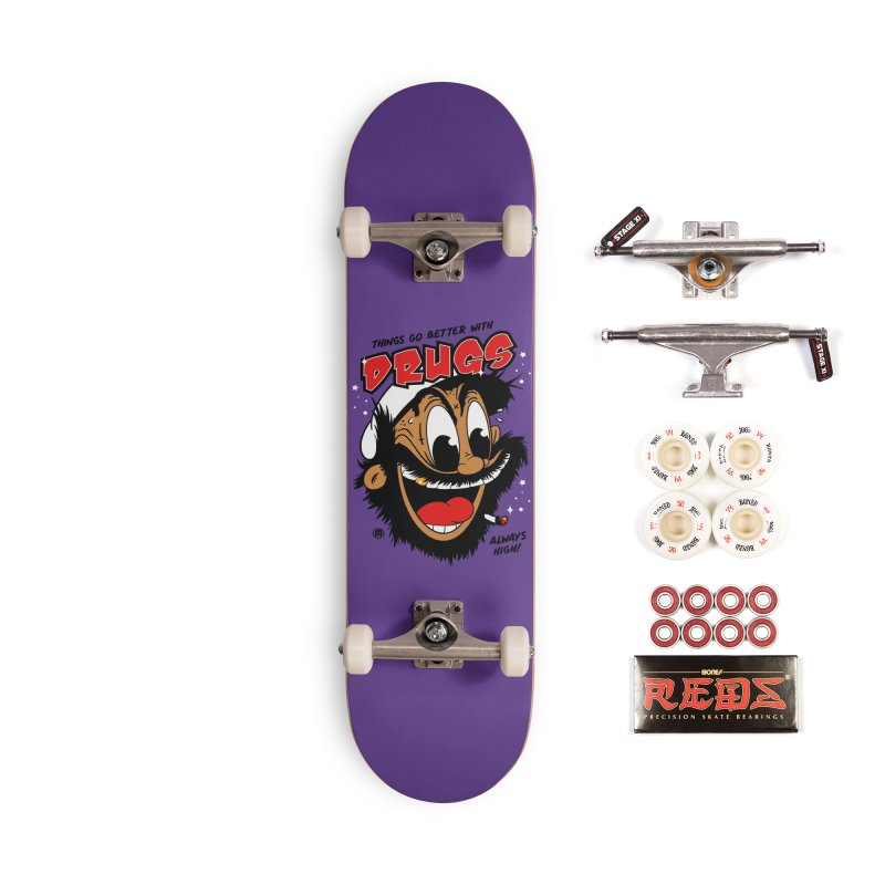 Drugs Accessories Complete - Pro Skateboard by MXM — collection