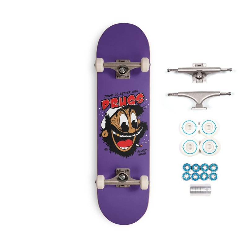 Drugs Accessories Skateboard by MXM — collection