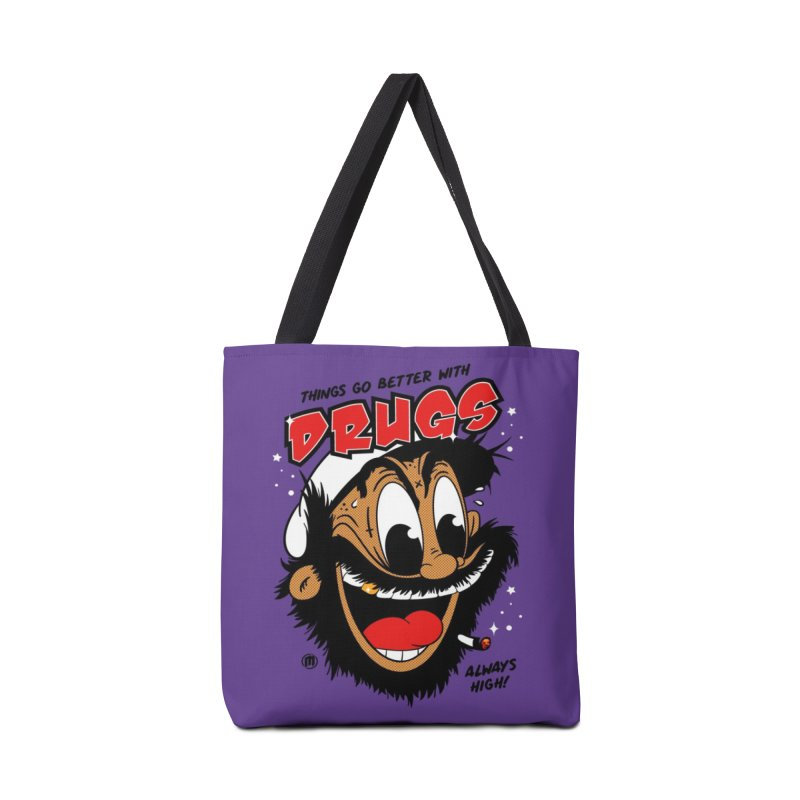 Drugs Accessories Tote Bag Bag by MXM — ltd. collection