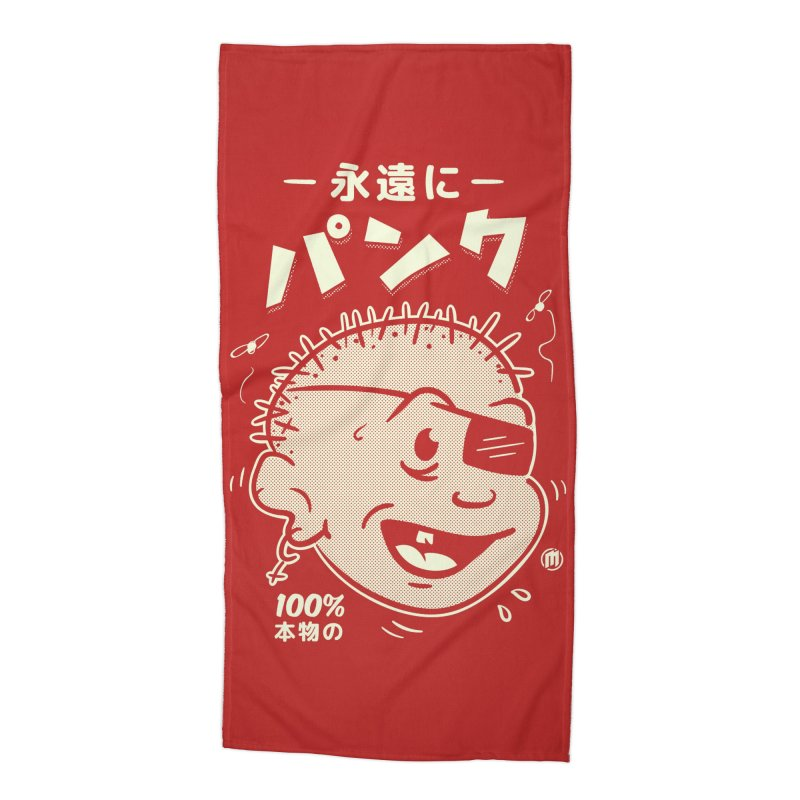 いつもパンク Accessories Beach Towel by MXM — ltd. collection