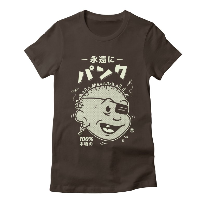 いつもパンク Women's Fitted T-Shirt by MXM — collection