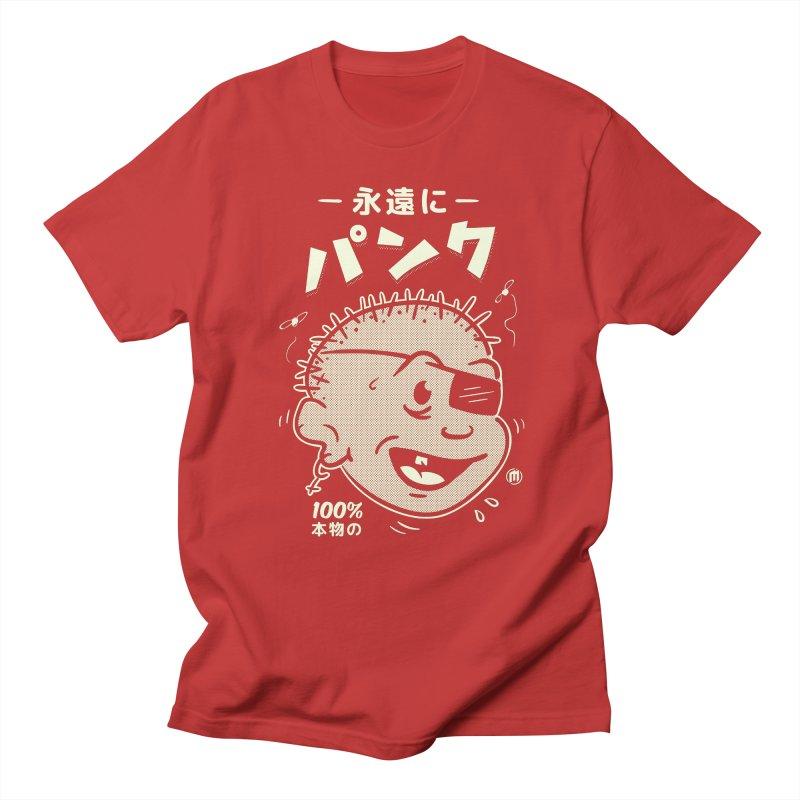 いつもパンク Men's T-Shirt by MAXIMOGRAFICO Ltd. Collection