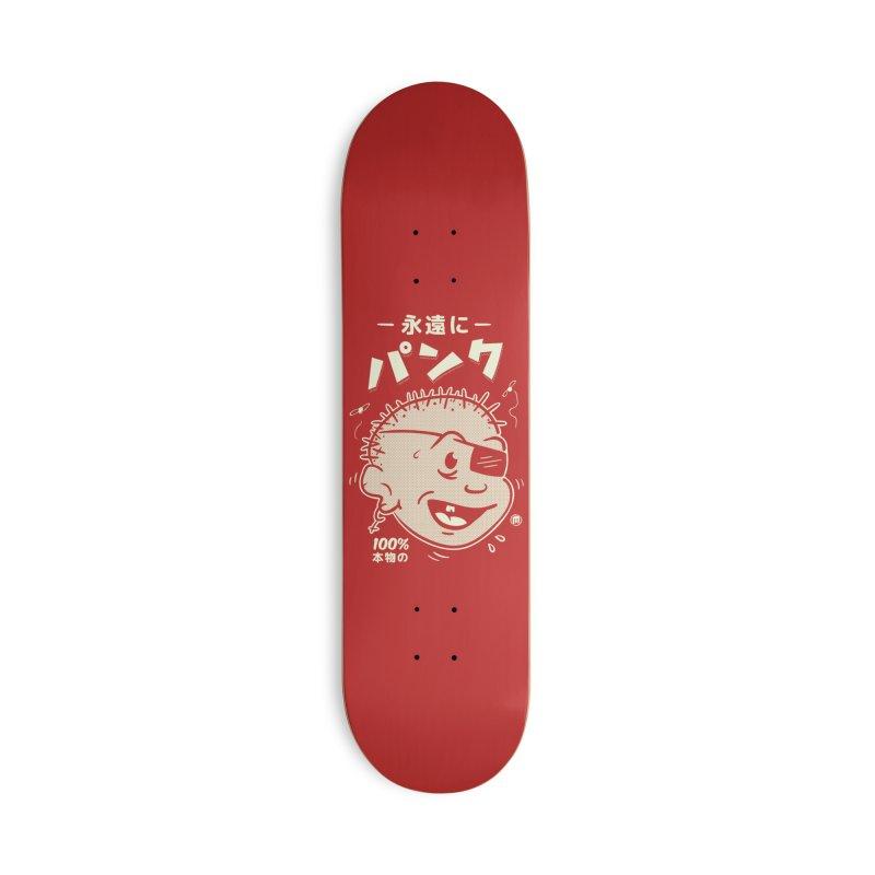 いつもパンク Accessories Skateboard by MAXIMOGRAFICO Ltd. Collection