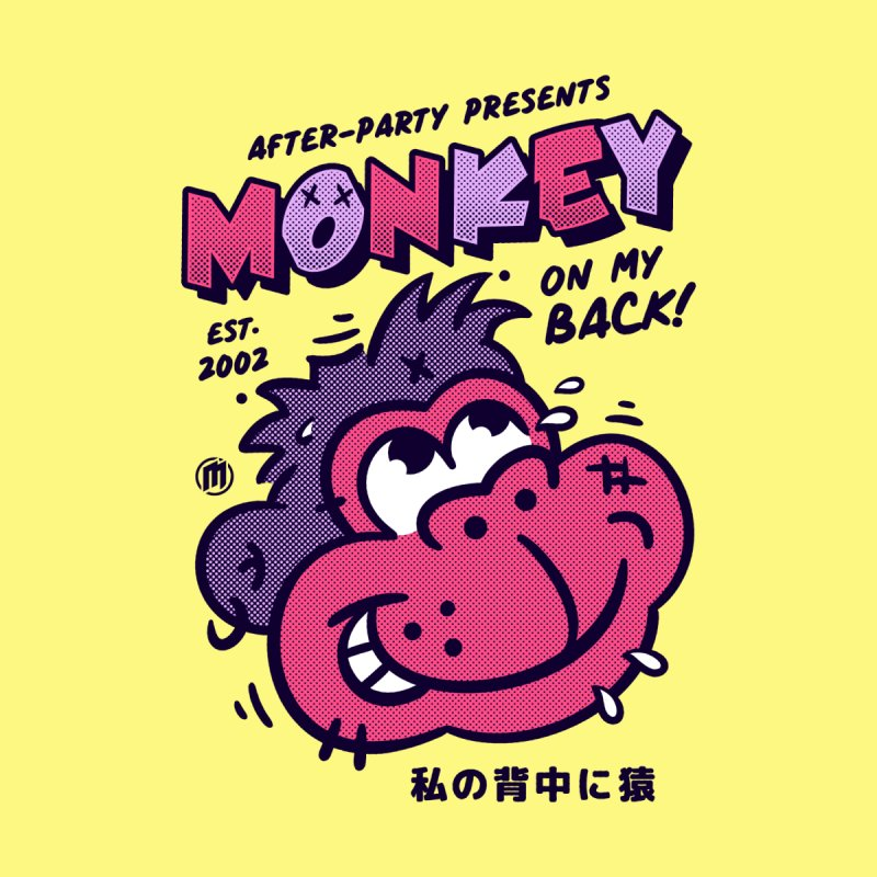 Monkey on my Back Women's T-Shirt by MXM — ltd. collection