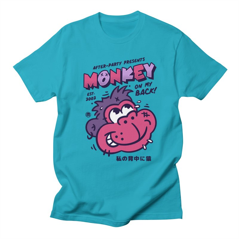 Monkey on my Back Men's Regular T-Shirt by MXM — collection