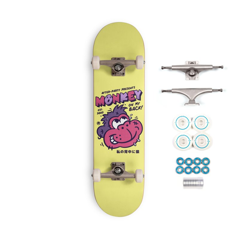 Monkey on my Back Accessories Skateboard by MXM — collection