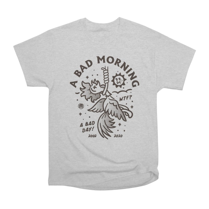 A Bad Morning Men's T-Shirt by MAXIMOGRAFICO Ltd. Collection