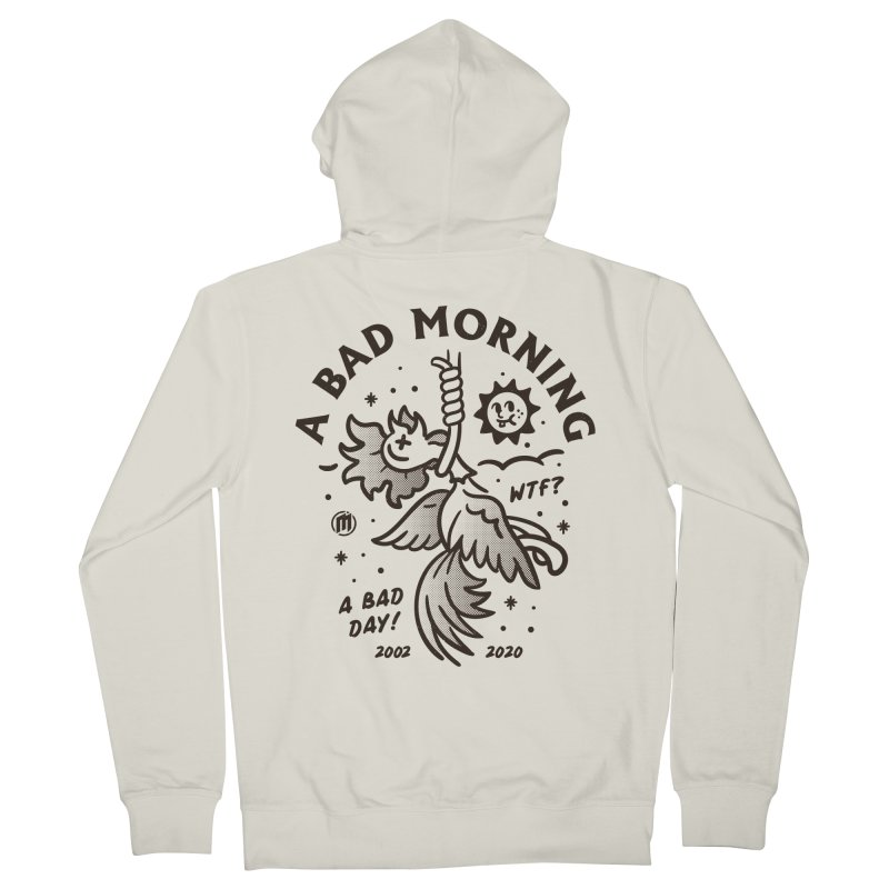 A Bad Morning Men's French Terry Zip-Up Hoody by MXM — collection