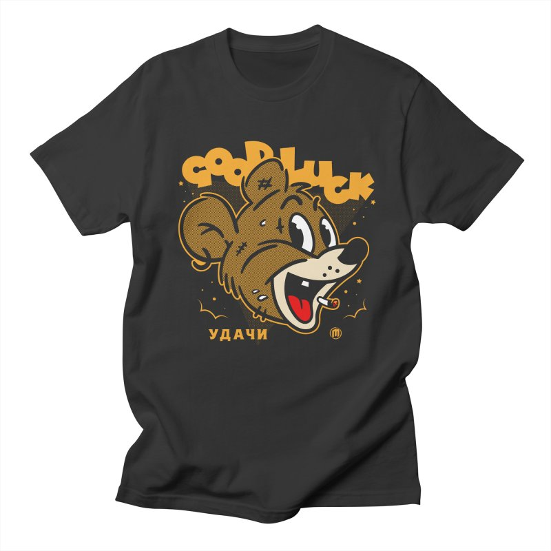 Good Luck Men's T-Shirt by MAXIMOGRAFICO Ltd. Collection