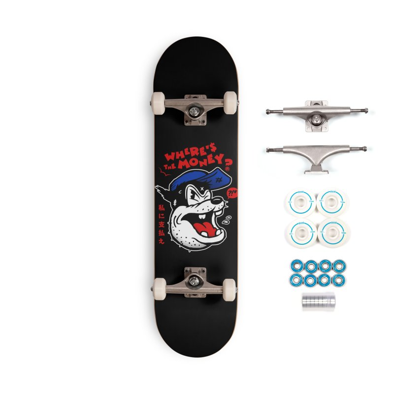 Where's the Money? Accessories Complete - Basic Skateboard by MXM — ltd. collection