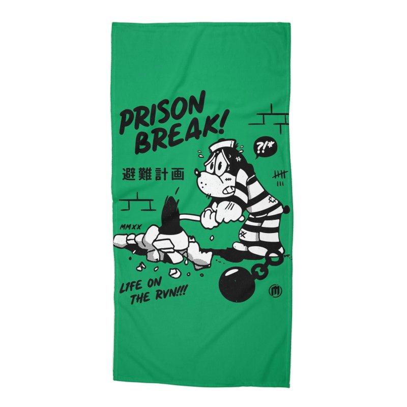 Prison Break Accessories Beach Towel by MXM — ltd. collection