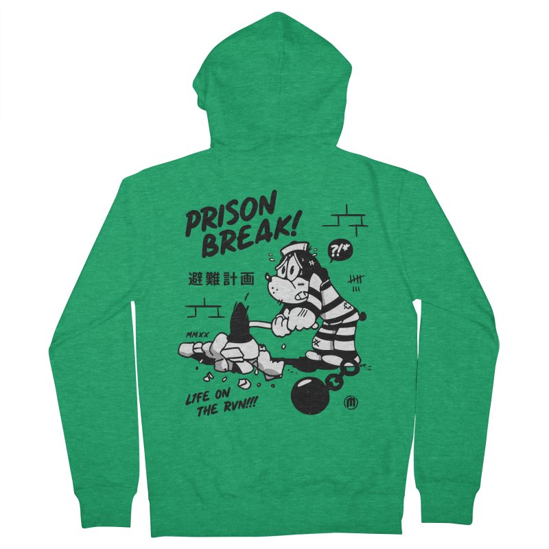 Prison Break Men's Zip-Up Hoody by MXM — ltd. collection