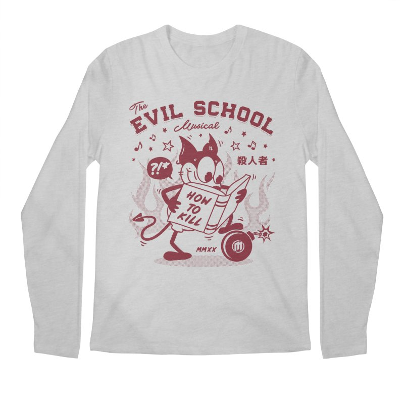 The Evil School Men's Longsleeve T-Shirt by MAXIMOGRAFICO Ltd. Collection