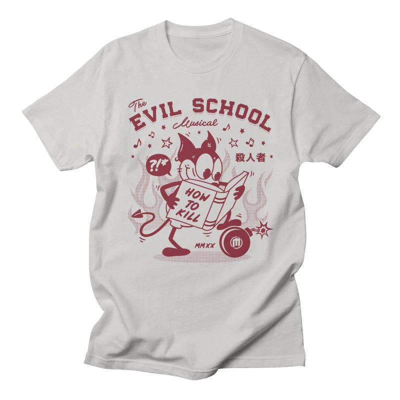 The Evil School Men's T-Shirt by MAXIMOGRAFICO Ltd. Collection
