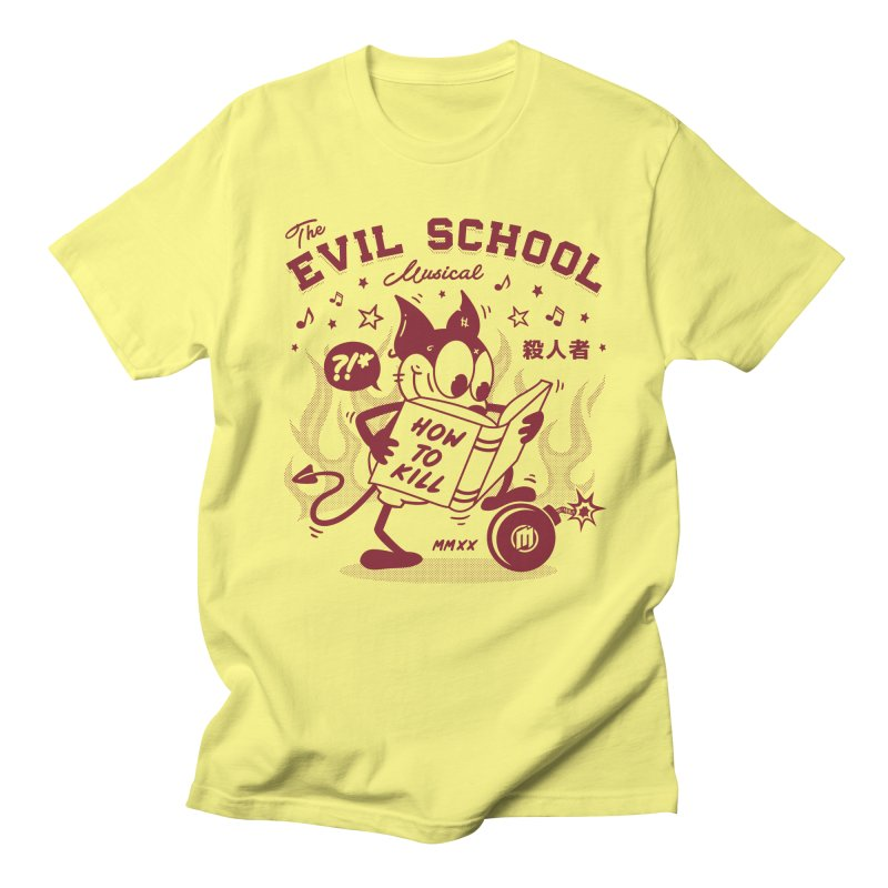 The Evil School Men's T-Shirt by MXM — ltd. collection