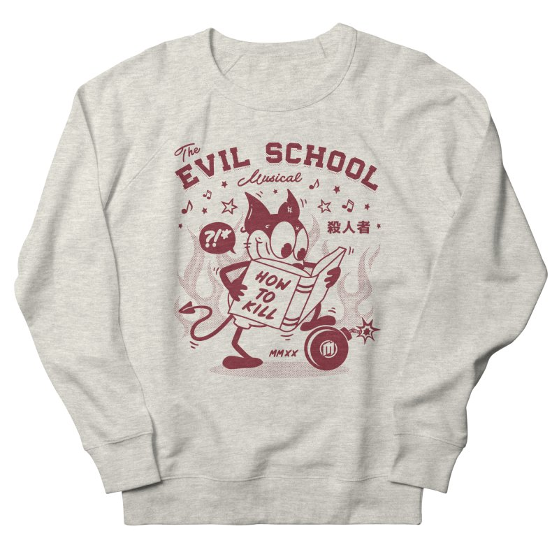The Evil School Men's Sweatshirt by MXM — ltd. collection