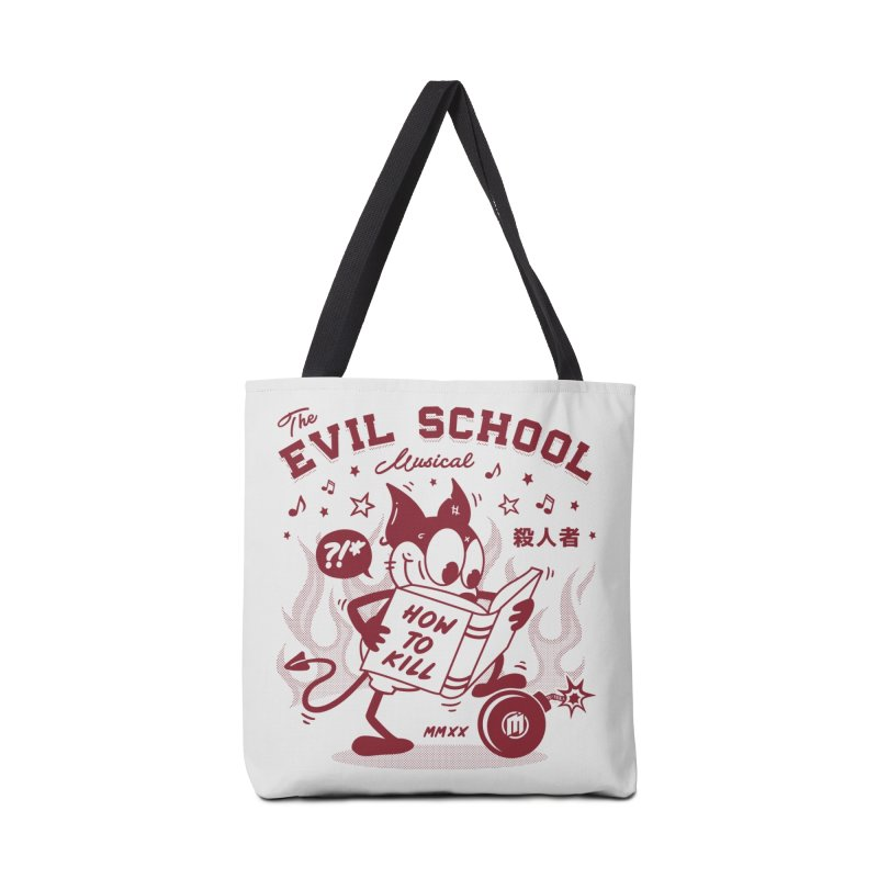 The Evil School skaters Bag by MAXIMOGRAFICO Ltd. Collection