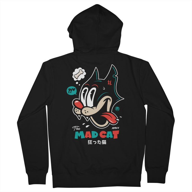 The Mad Cat Women's French Terry Zip-Up Hoody by MXM — ltd. collection