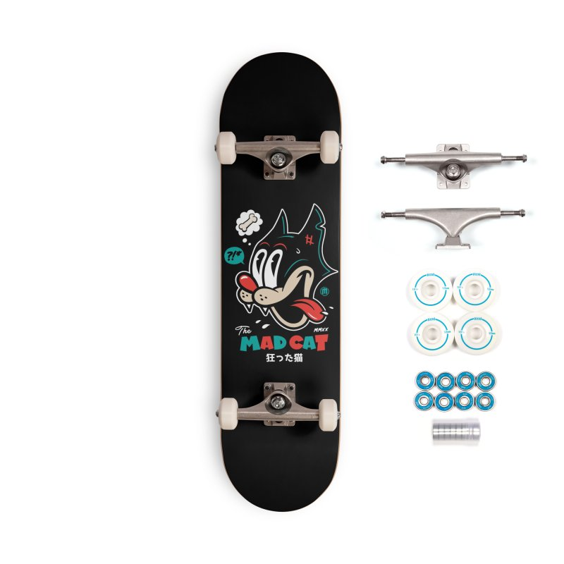 The Mad Cat Accessories Complete - Basic Skateboard by MXM — ltd. collection