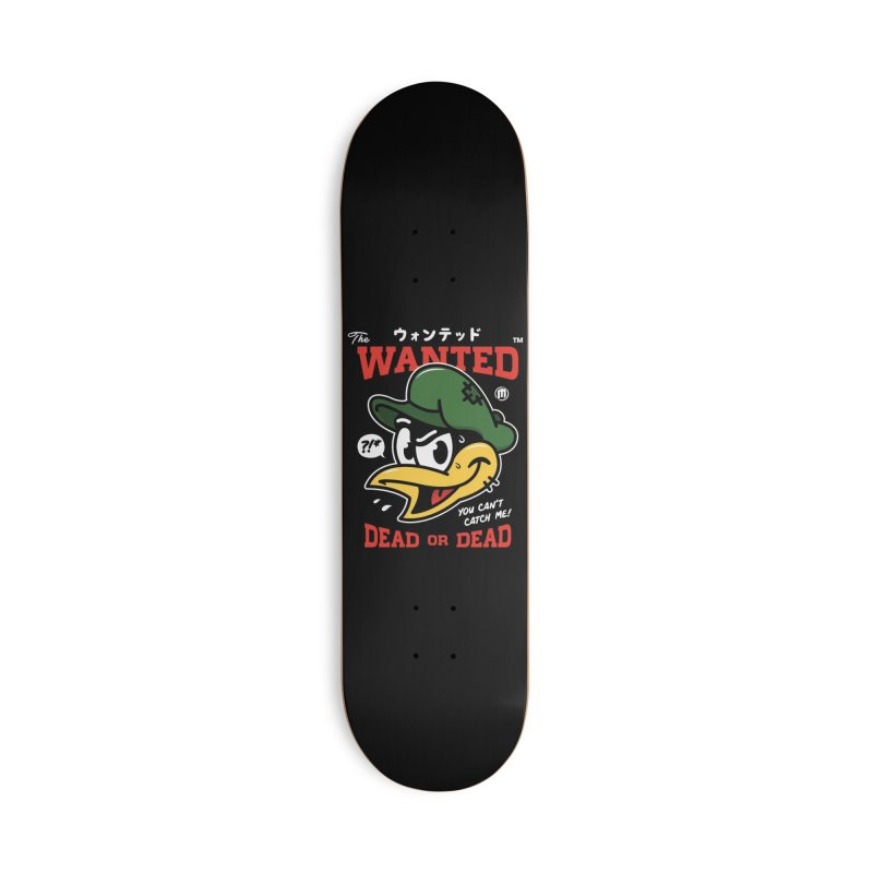 The Wanted™ Accessories Deck Only Skateboard by MXM — ltd. collection