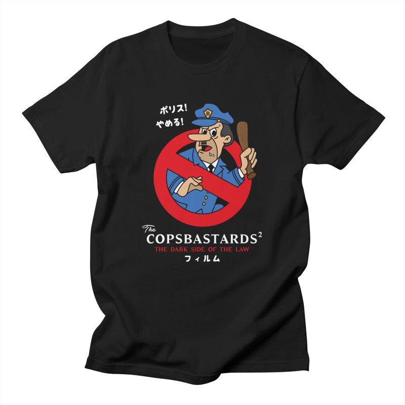 CopsBastards Men's T-Shirt by MAXIMOGRAFICO Ltd. Collection