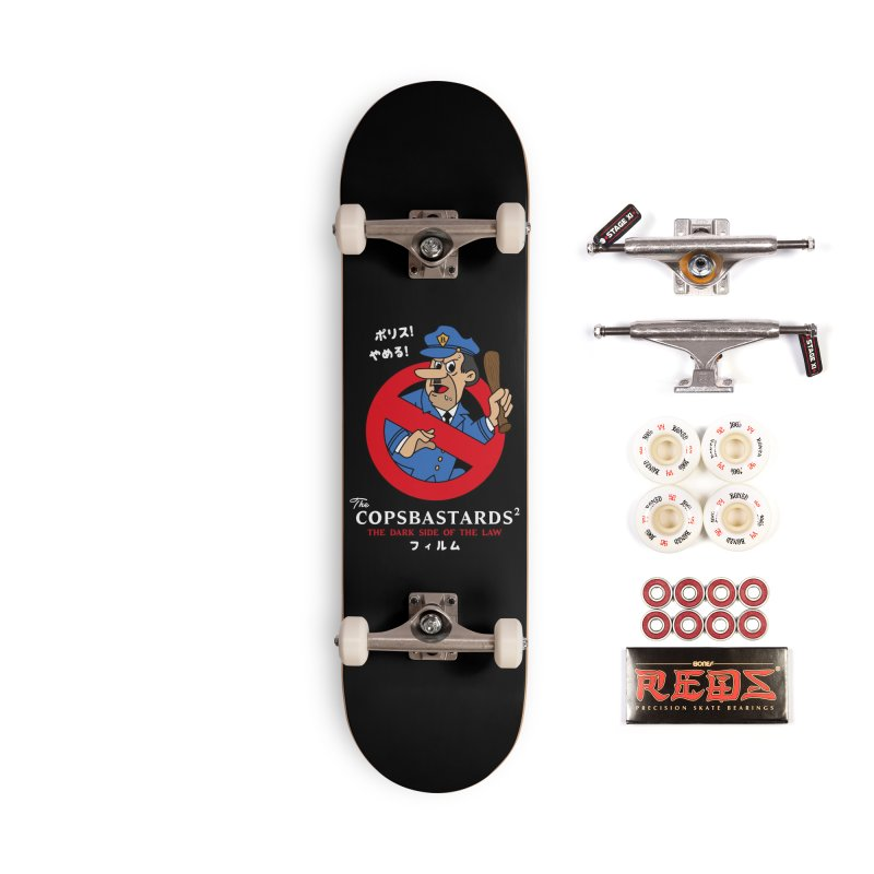 CopsBastards Accessories Complete - Pro Skateboard by MXM — ltd. collection