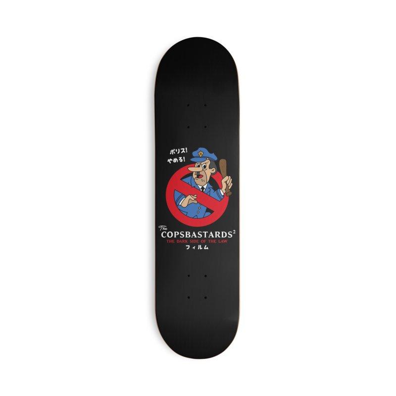 CopsBastards Accessories Deck Only Skateboard by MXM — ltd. collection