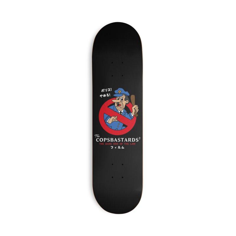CopsBastards skaters Skateboard by MAXIMOGRAFICO Ltd. Collection