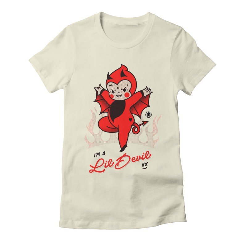 I'm a Lil Devil Women's T-Shirt by MXM — ltd. collection
