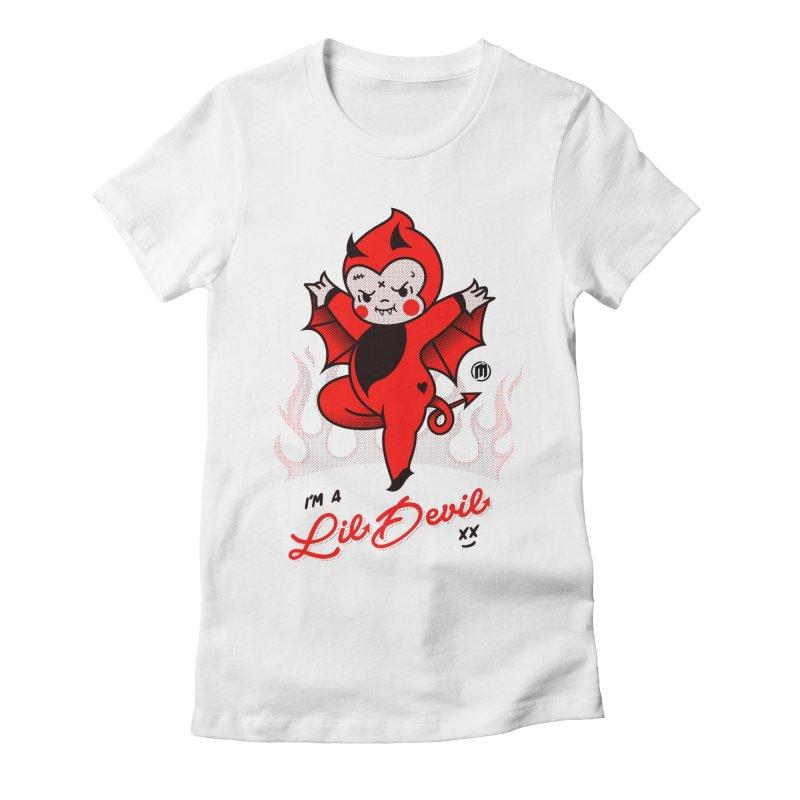 I'm a Lil Devil Women's T-Shirt by MXM — ltd. collection