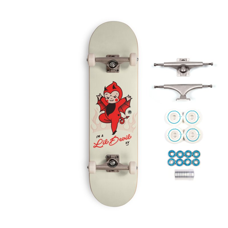 I'm a Lil Devil Accessories Skateboard by MAXIMOGRAFICO Ltd. Collection