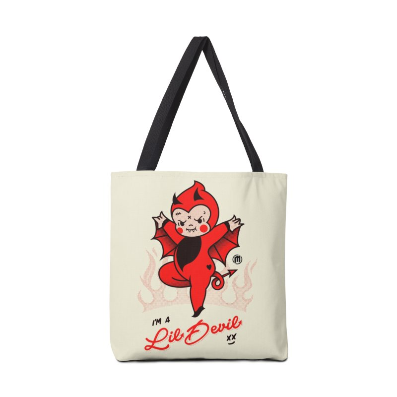 I'm a Lil Devil Accessories Tote Bag Bag by MXM — ltd. collection