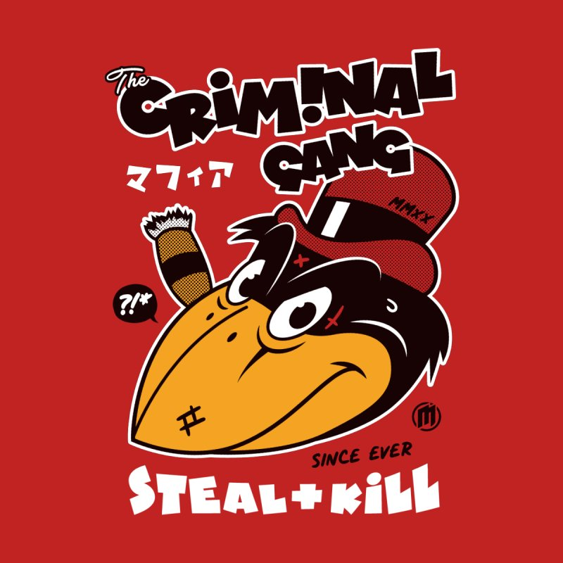 The Criminal Gang Men's T-Shirt by MAXIMOGRAFICO Ltd. Collection