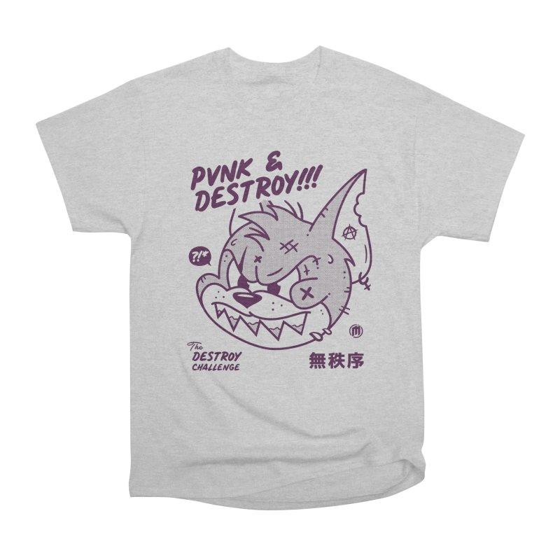 Punk & Destroy Men's T-Shirt by MAXIMOGRAFICO Ltd. Collection