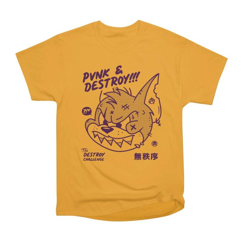 Punk & Destroy Men's Heavyweight T-Shirt by MXM — ltd. collection